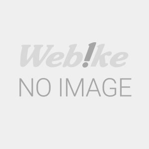 The right side of the cover with stickers. 64306-K0W-T00ZA - Webike Indonesia
